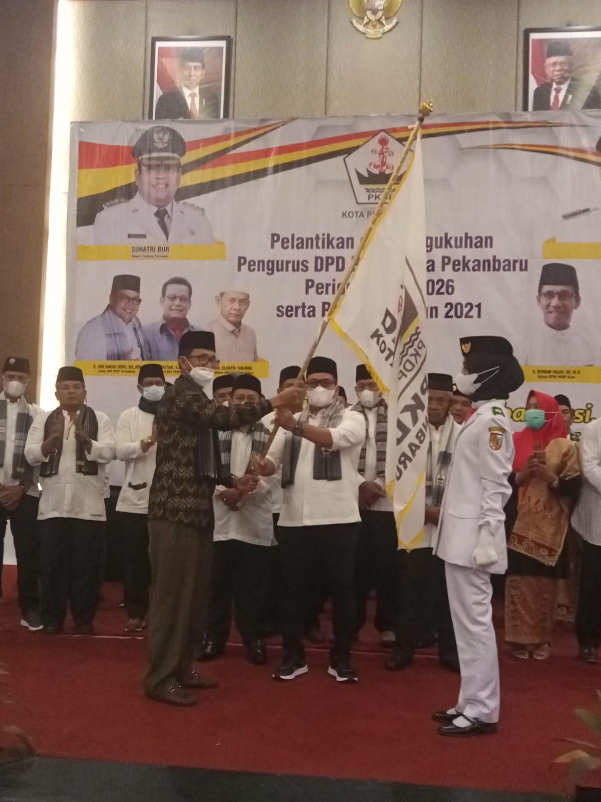Ketua DPD PKDP Kota Pekanbaru Resmi Dilantik