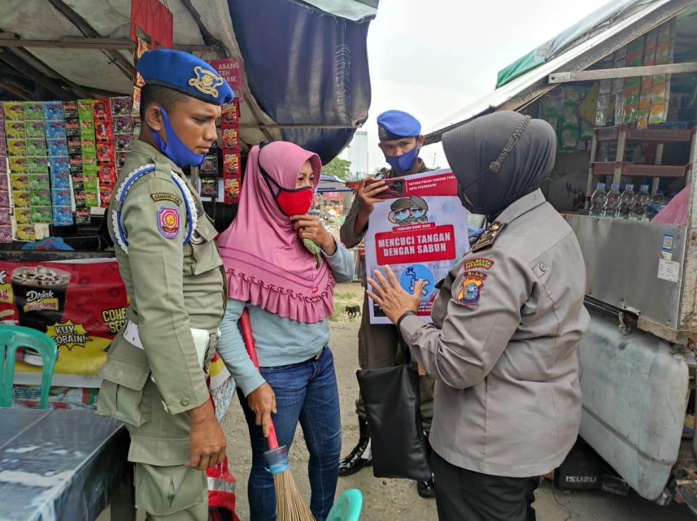 68 Pelanggar Diberikan Sanksi oleh Tim Operasi Yustisi Gabungan.