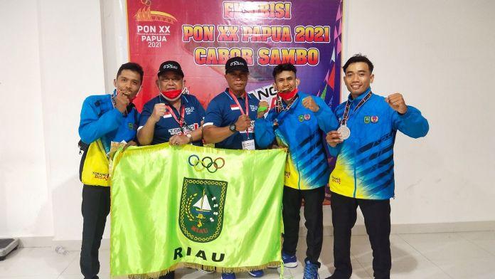 Rober Hendriko Haturkan Selamat Buat Sambo Riau,Sabet 4 Medali Emas dan 1 Perak Pada PON XX Papua 20