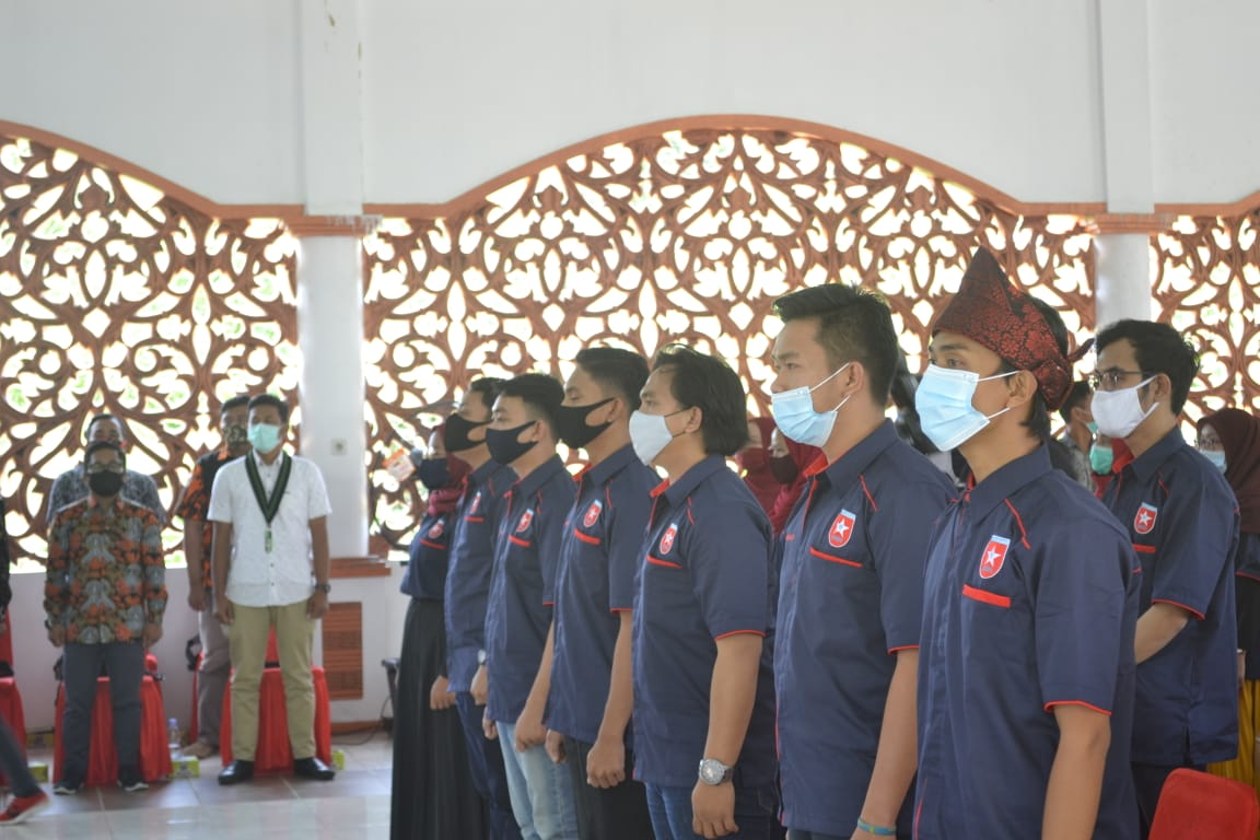 Bupati Rokan Hulu Melantik Himarohu-Riau Priode 2020-2022
