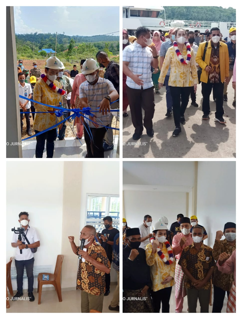 Ini Yang Disampaikan Anggota DPR RI komisi V Cen sui lan Kunjungan Di Kecamatan Selayar