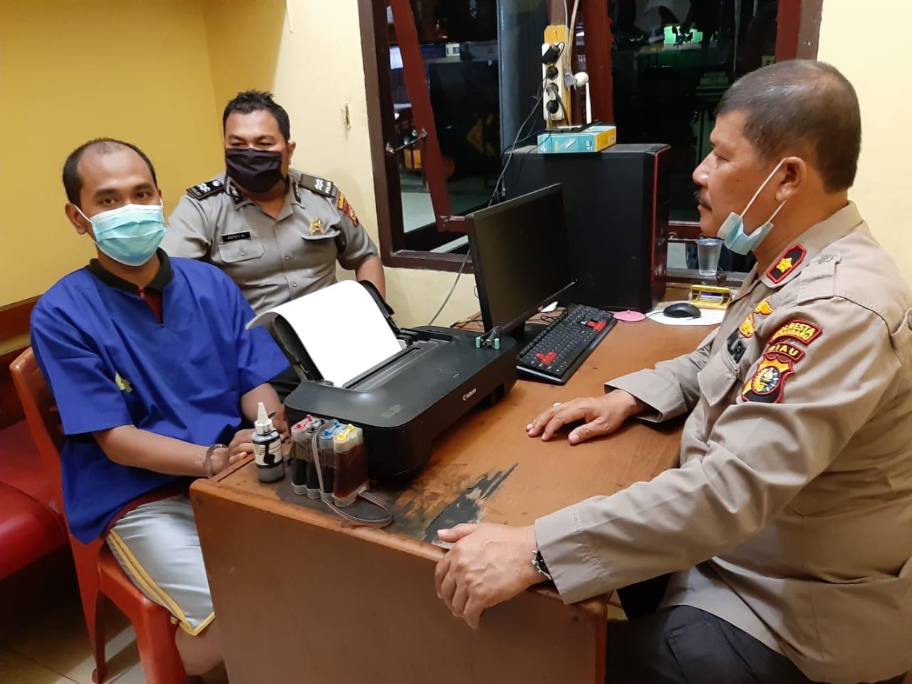 Tersangka Penipuan dan Penggelapan Ditangkap Polisi