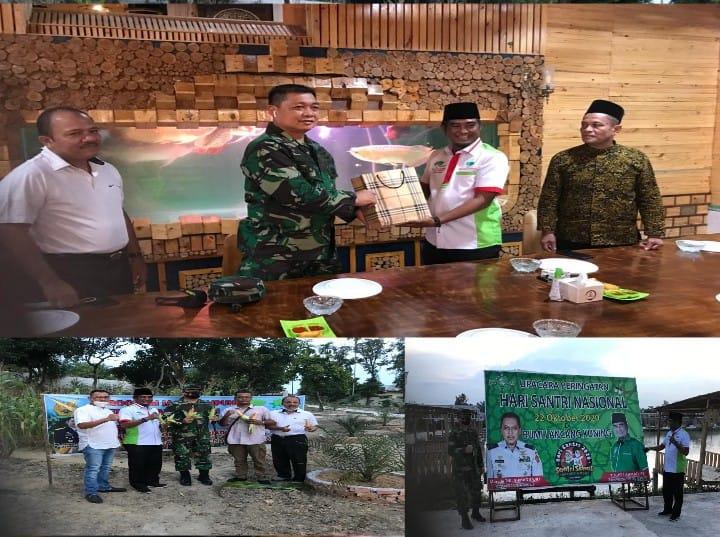 Ketum SantaNU Berterimakasih Kepada Marsma TNI Ronny Irianto Moningka Hadir Memanen Jagung di RA Kop
