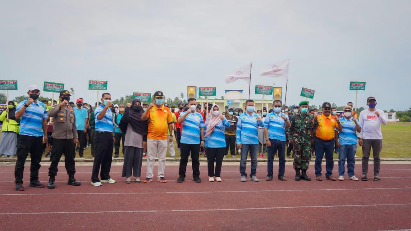 Kejurda Atletik 2021, Nizar Harap Lingga Bertahan Juara Umum Tingkat Provinsi