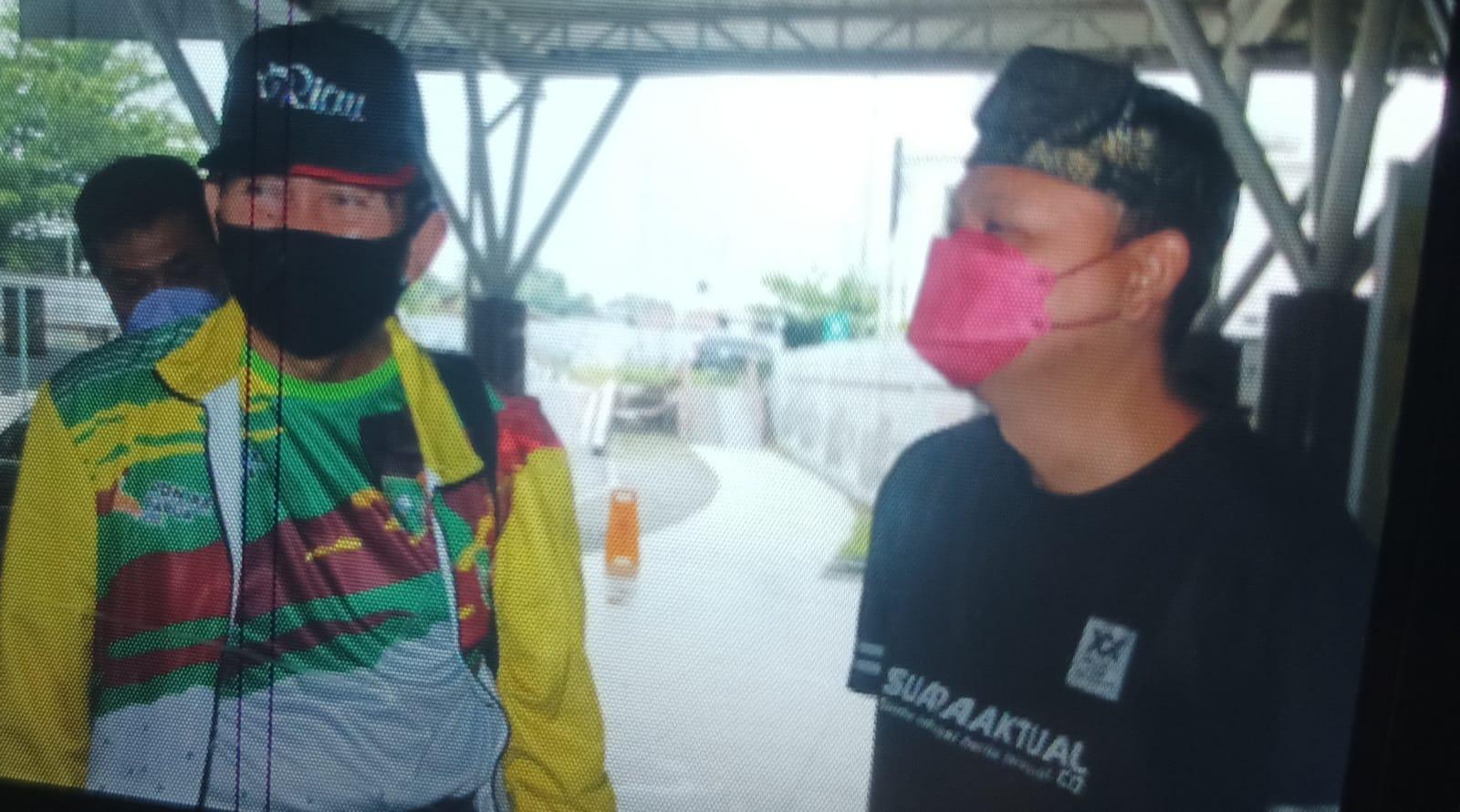 Ketua FPR,Doakan dan Saksikan Keberangkatan Atlet dan Pengurus KONI Riau Ke Papua