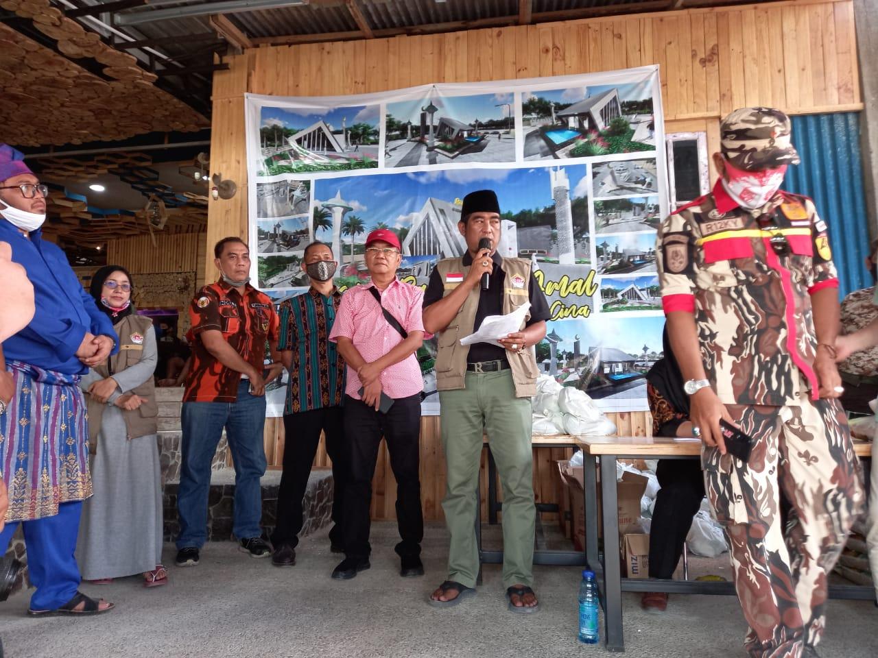 Santri Tani Indonesia Laksanakan Upacara Kenegaraan HUT RI ke 75,di RA Cafe Aren
