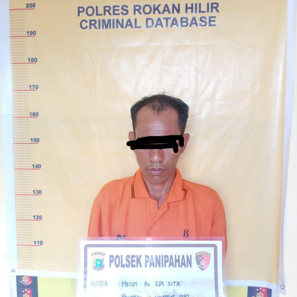 Pelaku Pembacokan Dipanipahan Rohil Ditangkap Polisi