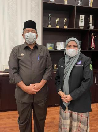 Bupati Siak Menyambut Rombongan Kunker Komnas PA Provinsi Riau