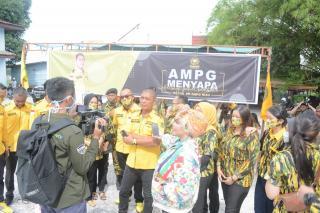 AMPG Bersama KPPG Bagikan Sembako Dalam Rangka Giat Rakornis