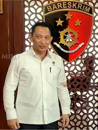 Calon Kapolri Komjen Listyo Sigit Silaturahmi ke Mantan Kapolri Minta Doa Restu