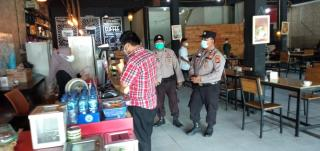 Polsek Bukit Raya Lakukan Operasi Yustisi Bersama Tim Pemburu Teking Covid19 Di Kota Pekanbaru