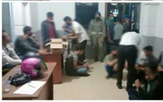 Satpol PP Kota Pekanbaru Razia Hotel dan Wisma,44 Pasangan Muda,Mudi Diamankan