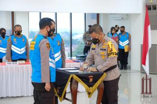 Pastikan Rekruitmen Dengan Prinsip Bersih, Transparan Dan Humanis, Panitia Dan Peserta Tanda Tangani