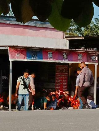 Bentroknya Dua OKP antara PP dan IPK di Desa Mahato Persiapan Bandar Selamat Rokan Hulu (Riau)
