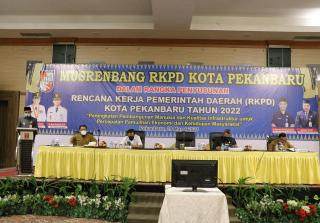 Wawako Pekanbaru: RKPD Tahun 2022 Prioritaskan Tiga Sektor