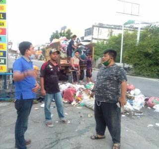Hendra Afriadi Turun Tanganin Masalah Sampah
