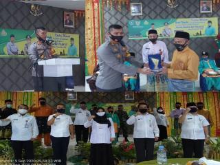 Polres Bengkalis Bersama Baznas Menggelar Khitah Masal Anak Dhu,afa