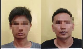 Resnarkoba Polres Kampar Tangkap 2 Tersangka dengan BB 50 Gram Shabu