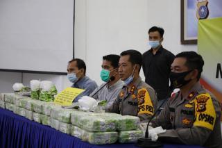 Polres Inhil Ungkap Narkoba,50 KG Sabu Berhasil Diamankan