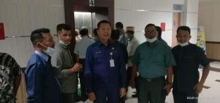 Kadis PUPR Pekanbaru Indra Pomi Nasution Terima Kunjungan Kerja Komisi II DPRD Kab.Pasaman