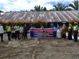 Polres Rohul Gelar Kegiatan Police Goes To School Di SD Muhammadiyah