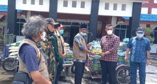 DPP SantanNU Serahkan Bantuan Sembako untuk Korban Banjir di Kepulauan Meranti