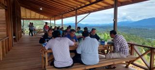 Jalin Hubungan Silaturahmi,Wabub Pasaman Timur Kunker ke Rohul