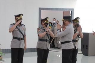 Kapolda Pimpin Serahterima Jabatan 4 Pejabat Utama Polda Riau