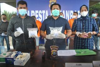 Sita 2,9 Kilogram Sabu, Polresta Gulung 7 Tersangka Komplotan Jaringan Narkoba Kota Pekanbaru