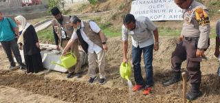 Gubri Ajak PB GNP Covid 19 Kerja Sama Salurkan Bantuan dan Program Ketahanan Pangan