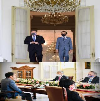 Terima Kunjungan Menteri Luar Negeri AS,Presiden Bahas Kerja Sama Ekonomi hingga Pertahanan