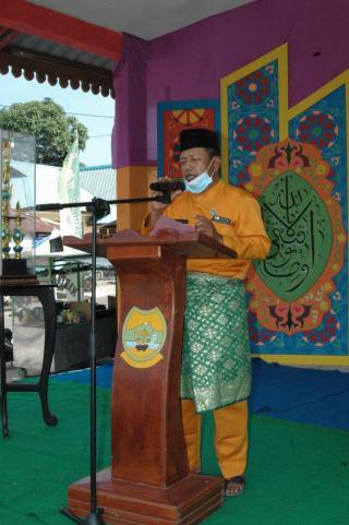 Muhammad saman S.pd Buka Secara Resmi STQ ke IV Tingkat Kecamatan Selayar 2021