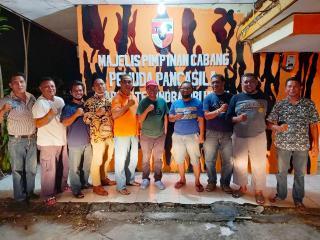 Ketua MPC PP bersama Seknas BUMP Indonesia Korwil Riau,Bersatu Bangkitkan Bisnis Pertanian