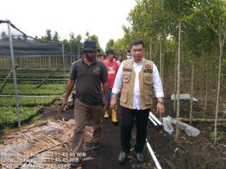 H Syahrial Abdi Kunjungi Pusat Budidaya Gerunggang LSM IPMPL