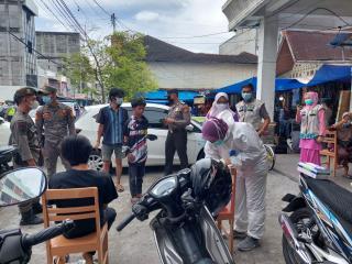 Ops KRYD Polres Bengkalis Bersama Tim Gabungan Terus Disiplinkan Prokes
