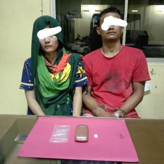 Miliki Narkoba, Pasangan Suami Istri Warga Singingi Diamankan Polisi