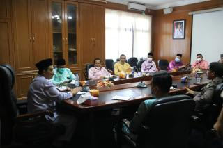 Pemkab Rohul Gelar Rapat Pelantikan Bupati-Wakil Bupati Rohul