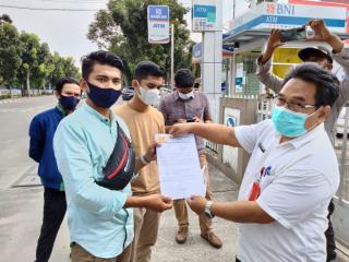 Gerah dengan Mafia Tanah,HIMARI Turun Ke Jalan Tuntut Berantas Mafia Tanah