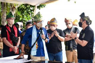 Menteri Pariwisata Sandiaga Uno Kunjungi Desa Koto Masjid
