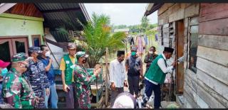 Kyai Said Agil Siradj Dan Waketum DPP Santani NU Bantu Bedah Rumah Senilai 15 Juta