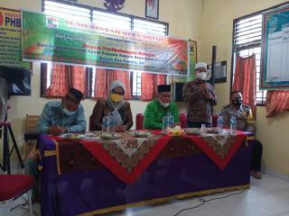 Camat Langgam Hadiri Acara Pisah Sambut Kepala Desa Sotol Kecamatan Langgam
