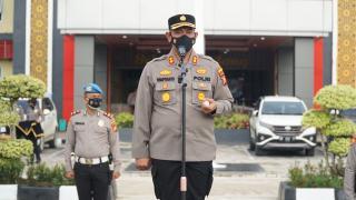 Kapolsek Bonai Darussalam IPDA M Fatityo Penerima Beasiswa LPDP Dari 37 Perwira Dilepas Kapolri