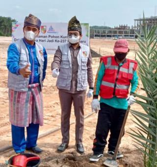 Ginda Burnama ST Menghadiri Peringatan Hari Jadi Kota Pekanbaru Bersama Forkofimda