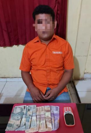 Polsek Tapung Hulu Tangkap Pelaku Judi Togel di Desa Talang Danto