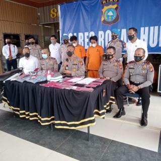 Perampokan dan Pembunuhan di Rohul ditangkap Polisi