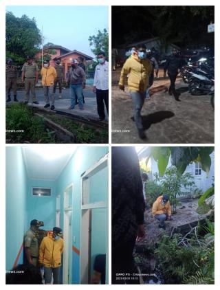 Pastikan Tidak Ada Banjir Dan Kebersihan Wabub Lingga Neko Wesha pawelloy Turun Lansung