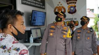 Polsek Tampan Kota Pekanbaru, Pertama Terapkan Sistem Pelayanan Drive Thru SKCK & LKB