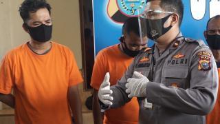 Polsek Tampan Berhasil Amankan Tiga Pelaku Pencurian Spesialis Ganjal ATM