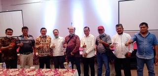Bertemu Seknas BUMP Indonesia,Bupati Batanghari:BUMP Dapat Didirikan dan Angkat Potensi Pertanian