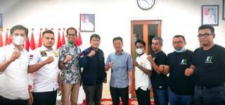 Road Show Kandidat Ketua HIPMI Ke Rohil Papar Visi dan Misi